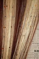 Шторы Нити радуга, Кисея стекло № 81314
