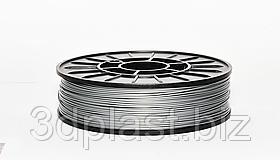 HIPS (УПС) пластик для 3D друку, 1.75 мм, 0.75 кг, сірий-металік