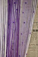 Шторы Нити радуга, Кисея стекло № 112205