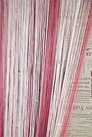 Шторы Нити радуга, Кисея стекло рад № 156