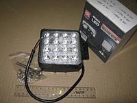 Фара LED (DK B2-48W-A-FOG LIGH) дополнительная противотум. 48W <ДК> Желтый свет