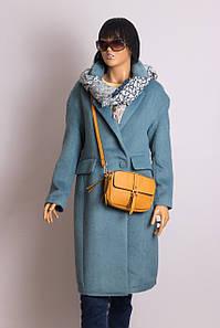 Пальто женское Y TWO 9061 PETROL