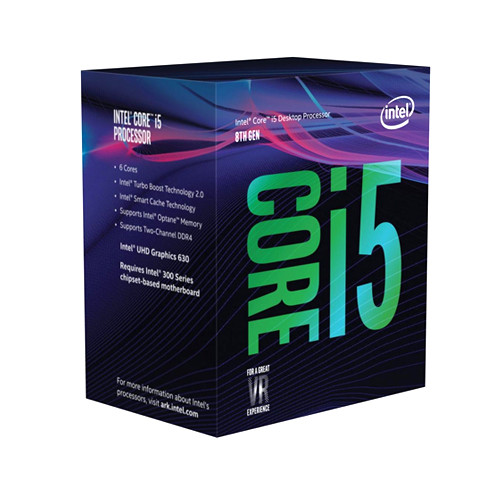 Процессор Intel Core i5-8500 (BX80684I58500) (s1151/3.0GHz/9M/65W)