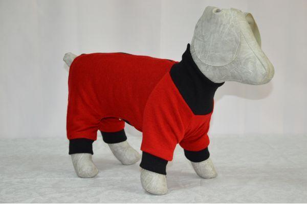 Комбинезон для собаки вязаный трикотаж, фото 1