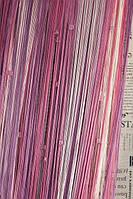 Шторы Нити радуга, Кисея стекло рад №618203