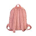Рюкзак вельветовый пыльно розовый, фото 3
