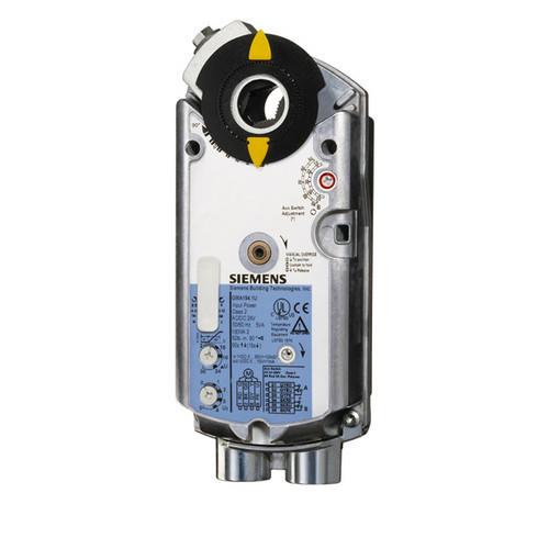 GBB335.1E Привід Siemens 3-точкове, AC/DC 240 B, 25 Nм, 150 з перемикачем і потенціометром