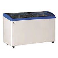 Морозильный ларь JUKA m400s (гнутое стекло) 440 литр