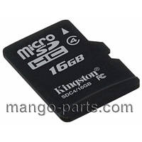 Карта памяти Kingston/Sandisk micro SDHC 16GB