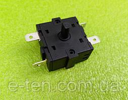 Перемикач потужності на 4 виходи (контакти 2+2) / 16A / 250V T125 для обігрівачів, бойлерів Electrolux...