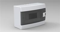 Щиток HOROZ ELECTRIC на 8 автоматов наружной установки