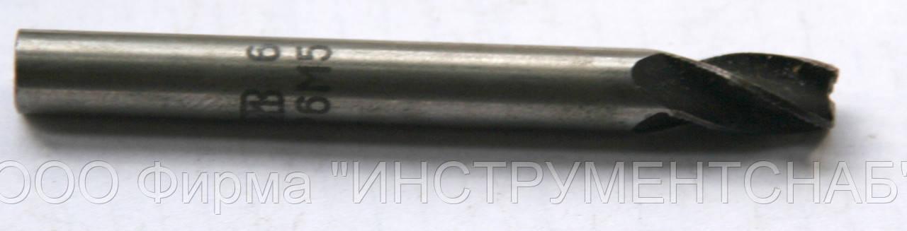 Фреза концевая 6 мм, Z3, ц/х, Р6М5 (47/13 мм)