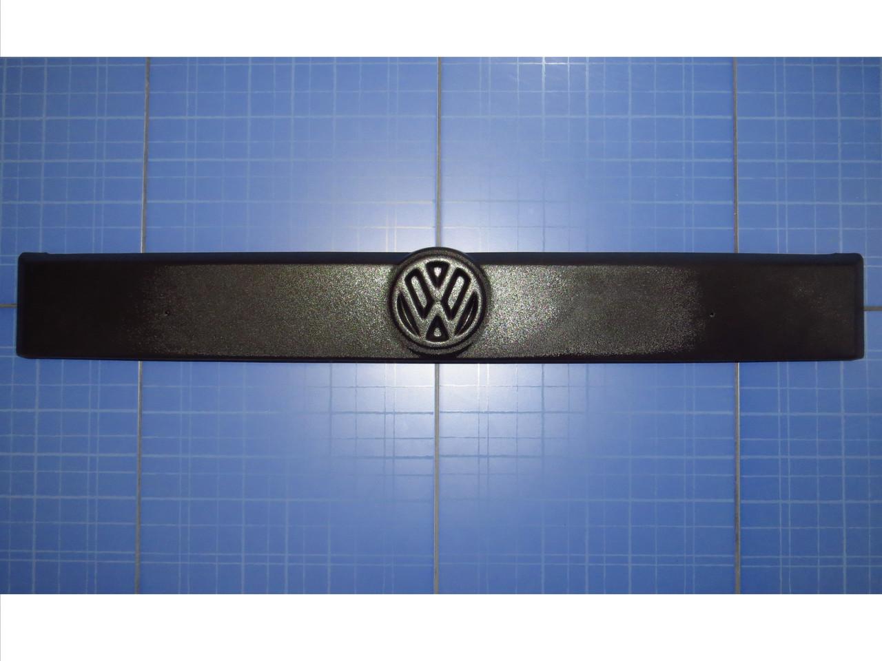 Заглушка решётки радиатора  Фольксваген Т4 верх 1990-1999 матовая Fly. Утеплитель решётки Volkswagen