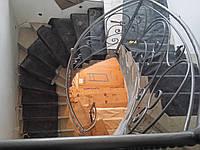 Кованые перила арт кп 38, фото 1