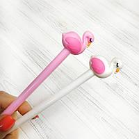Ручка шариковая  Фламинго (синяя), фото 1