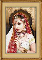 "Набор для рисования камнями (холст) ""Индианка"" LasKo TL022 (42,5х65 см)"