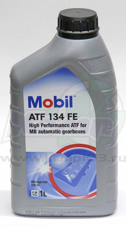Трансмиссионное масло  Mobil ATF 134 FE 1л