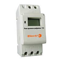 Недельный таймер T15цифровой, реле недельное, таймер ТЭ 15, TM41, ТН15