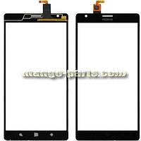 Тачскрин/Сенсор Nokia 1520 Lumia черный high copy