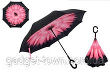 Зонт наоборот с ручкой крюк.