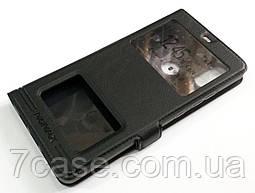 Чехол книжка с окошками momax для Xiaomi Mi 8 SE черный