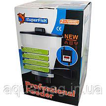 Кормушка SuperFish Fish Feeder KoiPro для рыб автоматическая для пруда, озера, УЗВ, фото 3