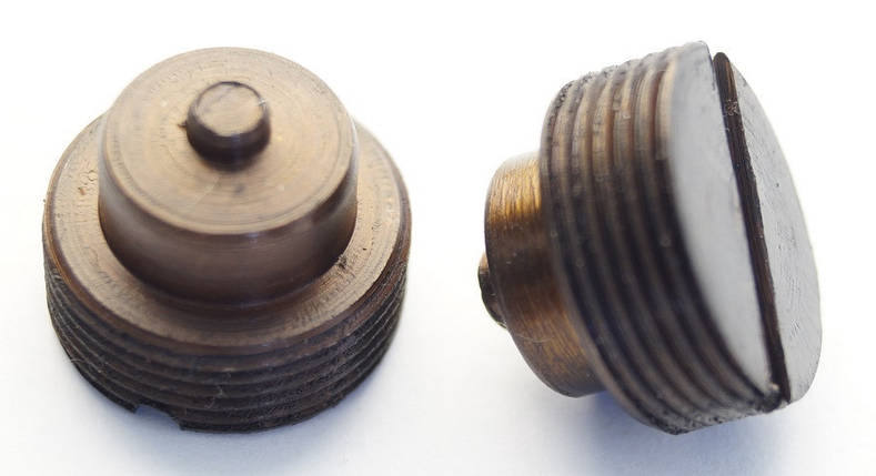 Пробка корпуса клапана для пистолетов Crosman, Borner, Umarex (металл), фото 2