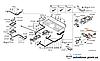 Уплотнитель основание соединителя батареи Nissan Leaf ZE0 / AZE0 (10-17) 295G3-3NA0B
