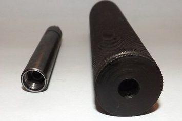 Имитатор глушителя к МР-654К Н (32 серия) в комплекте с разборным стволом