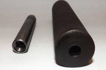 Имитатор глушителя к МР-654К Н (32 серия) в комплекте с разборным стволом, фото 2