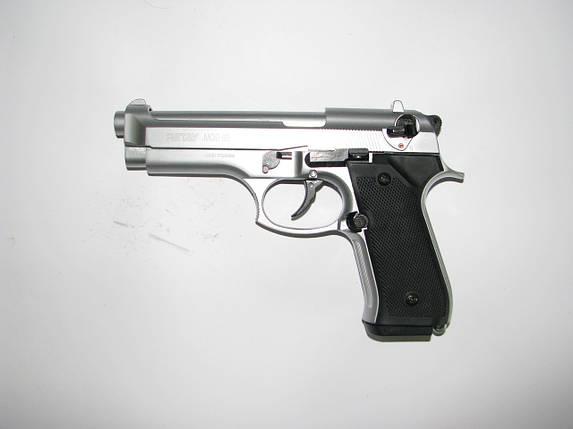 Стартовый пистолет Retay Mod 92 Nickel, фото 2