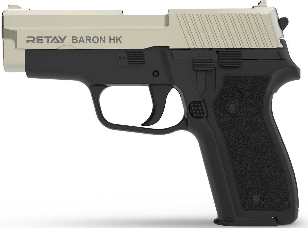 Стартовый пистолет Retay Baron HK Satin