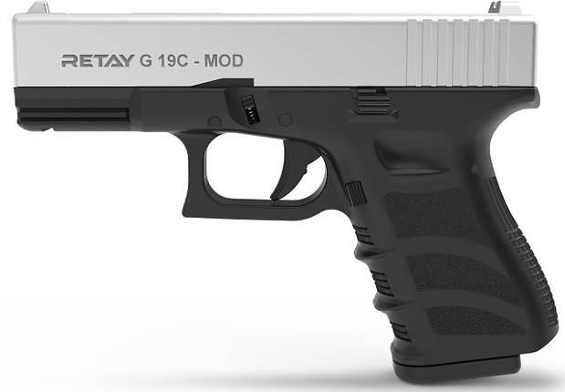 Стартовый пистолет Retay G19C Chrome , фото 2