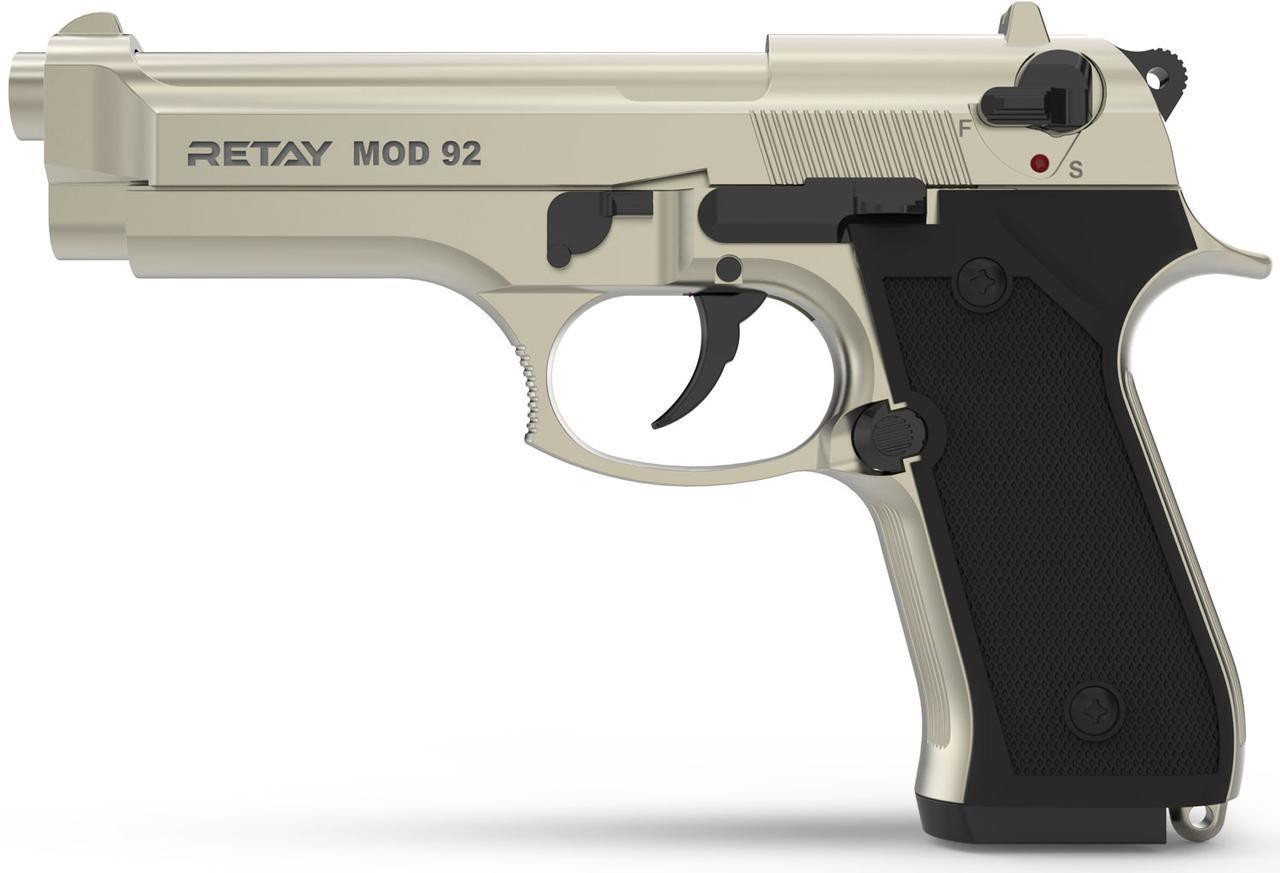 Стартовый пистолет Retay Mod 92 Satin