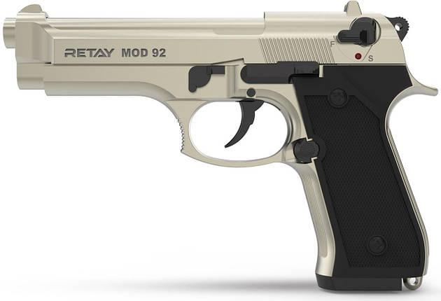Стартовый пистолет Retay Mod 92 Satin, фото 2