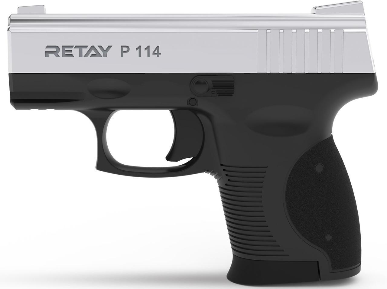 Стартовый пистолет Retay P 114 Nickel