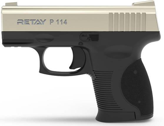 Стартовый пистолет Retay P 114 Satin, фото 2