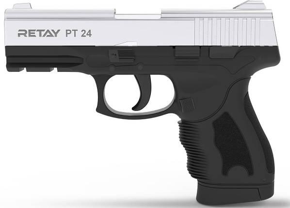 Стартовый пистолет Retay PT24 Nickel , фото 2