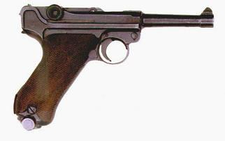 Стартовый пистолет ME (Cuno Melcher) P08