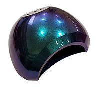 UV/LED лампа 48 Вт, для сушки геля и гель-лака, с вентилятором, хамелеон синяя, фото 1