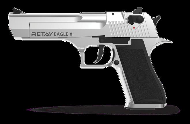 Стартовый пистолет Retay Eagle chrome, фото 2