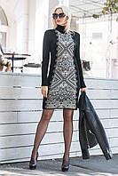 Вязаное женское платье Ольга, фото 1
