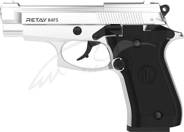 Стартовый пистолет Retay 84FS nickel, фото 2