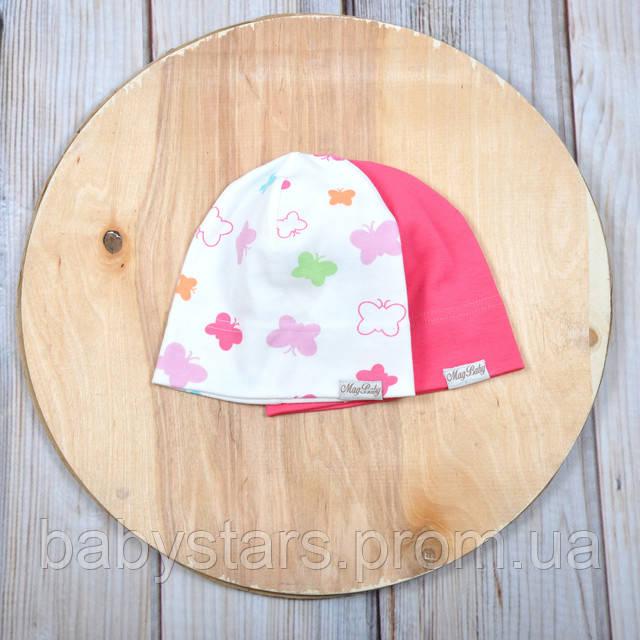Набор трикотажных шапок, Бабочки
