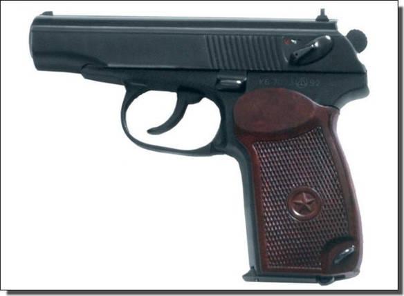 Пистолет под патрон Флобера СЕМ ПМФ-1, фото 2