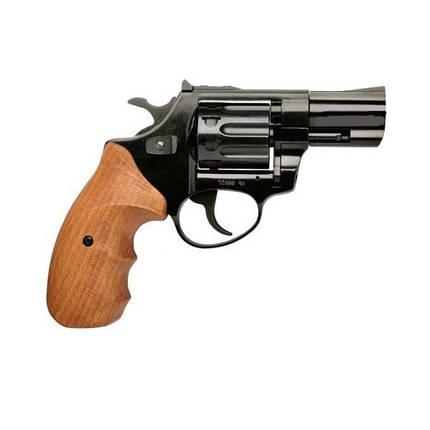 """Револьвер под патрон Флобера Zbroia PROFI 3"""" черный бук, фото 2"""