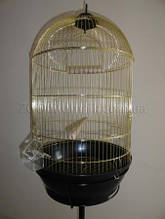 Круглая клетка для попугая, канарейки, амадина.70*40 см