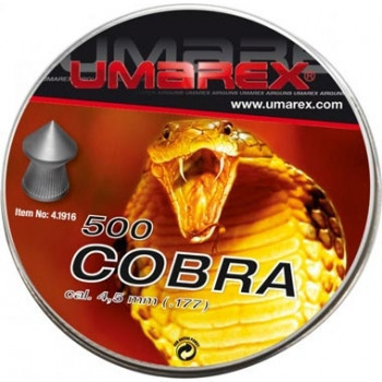 Кулі Umarex Cobra 4,5 мм 0,52 г (500 шт.)