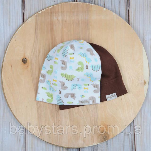 Набор трикотажных шапок, Дино