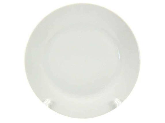 """Тарелка мелкая d=200 мм Белая в упаковке 12 шт """"Interos"""", фото 2"""